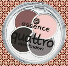 Essence Quattro Eyeshadow 19 Greys n'roses Different Textures Long-Lasting