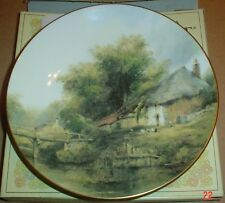 Coalport Collectors Plate THE RUSTIC BRIDGE From ENGLISH MASTERPIECES