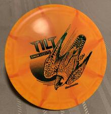 Discmania Tilt Simon Lizotte Signature Series - 175g - Orange Disc - Green Stamp