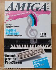 AMIGA Welt Zeitschrift : 5 / 89 Juli - August, AMIGA; Commodore / TOP
