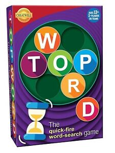 TOP WORD Quick Fire Word Search Wordsearch Game Cheatwell Games
