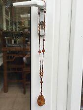 Chinois Agate collier avec pendentif 天然玛瑙吊坠项链 # 20140076