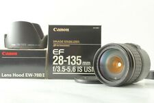【 Excellent w/Hood 】Canon EF 28-135mm f/3.5-5.6 IS USM Zoom Lens from JAPAN #484