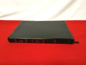 1977 NASB UltraThin Reference Bible Genuine Leather (Black) Red Letter Conc/Maps