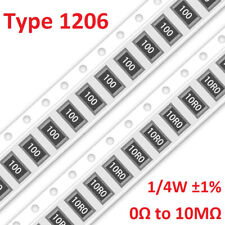 1206 Smd Resistors 14w 1 Type 1206 Smt Resistance 249 Values Can Be Selected