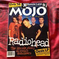 MOJO Magazine UK # 46 RADIOHEAD Oasis ELVIS Ronnie Lane