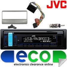 Ford Transit 94-98 Jvc Auto Stereo Cd Mp3 Usb Interfaz De Volante Kit Plata
