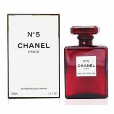 Brand New Chanel NO.5 Red Paris EAU DE PARFUM Perfume 3.4oz 100ml Women