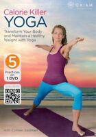 Yoga DVD EXERCISE DVD - CALORIE KILLER YOGA - Colleen Saidman - 5 Workouts!