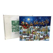 NEW Traditions Byers Choice Christmas Santa Sleigh Ride Advent Calendar AC07