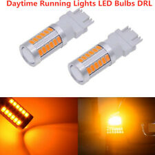 A Pair of Amber 33 SMD LED 3157 3156 3457 for FORD Front Turn Signal Light Bulb