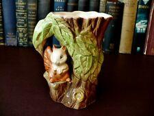 1960's Eastgate Pottery Vase - Fauna Pattern - 1960's Pottery - Jug Vases