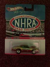 "Hot Wheels NHRA Drag Racing 73 Plymouth Duster ""Holy Moly"" 1:64"