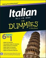 Italian All-In-One for Dummies (Paperback or Softback)