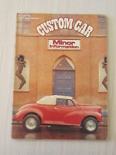 Custom Car Magazine March 1980 Minor Information