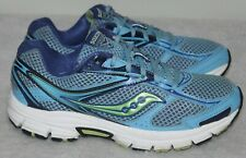 Saucony Cohesion 8 Running Shoes Walking Sneakers Women Sz 10 Blue Green
