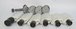 Lot of (6) Axis 210A IP POE Indoor Security Camera 30FPS VGA