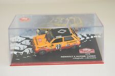 A3 1:43 ALTAYA IXO RENAULT 5 ALPINE TURBO RALLY MONTE CARLO 1978 MINT BOXED