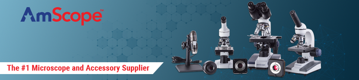 AmScope Microscope and Accessories