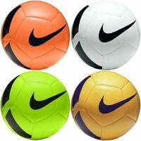 NIKE PITCH TRAINING BALL - TEAM FOOTBALLS WHITE YELLOW ORANGE GREEN - SIZE 3 4 5