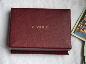 Vintage Bezique & Rubicon Card Game W.D. & H.O. Wills 1933 + original posted box