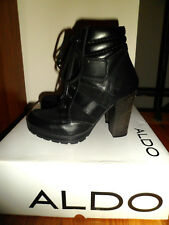 New Women's Aldo Jalin Black Heel Boots Size 6