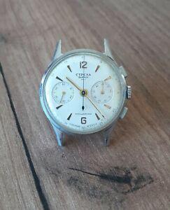Vintage Soviet Wrist Watch Strela Poljot Chronograph 3017 USSR Original Rare