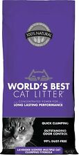 World's Best Cat Litter Lavender Scented Multiple Cat Clumping Formula, 28-lbs