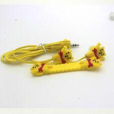 Winnie the Pooh Bear novelty earphones 3.5MM in-ear headphones. UK SELLER