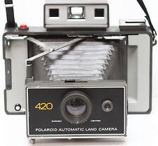 Vintage Polaroid 420 Instant Film Folding Land Camera Made in USA 1970s