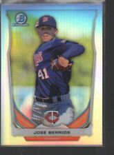 JOSE BERRIOS 2014 BOWMAN CHROME DRAFT TOP PROSPECTS REFRACTOR CARD #CTP-19