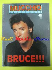 Rivista MUCCHIO SELVAGGIO 89/1985 Bruce Springsteen Ry Cooder F. Battiato No cd