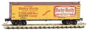 NIB Z MTL #51800371 40' Wood Reefer Nestle Baby Ruth Series #7 #NADX4537