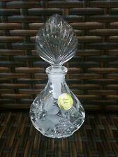 Vintage Bottle Princess House West Germany 24% Lead Crystal Cristal au Plomb