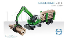 CONRAD 1:50 SCALE SENNEBOGEN 735 E HANDLING WITH LOG CRAB AND TRAILER 2958