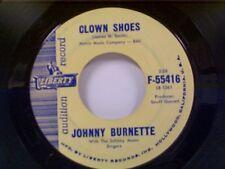 "JOHNNY BURNETTE ""CLOWN SHOES / THE WAY I AM"" 45 PROMO NEAR MINT"