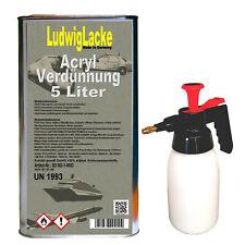 Acryl Verdünnung 3 Liter kurz für Lacke Von Ludwiglacke