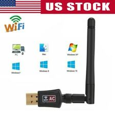 300Mbps Wireless USB Antenna WiFi Router Adapter PC Network LAN Card Dongle Kit