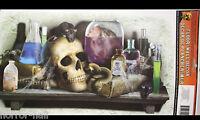 Gothic Halloween Prop SKULL LABORATORY FLOOR WALL GRABBER Window Door Decoration