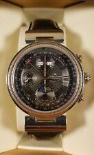 Jacques Lemans Automatic MoonPhase Swiss ETA Valjoux 7751 Men's Watch 1-1217 New