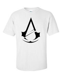 Mens Assassin's Creed Unity Game Logo Novelty Gift T-Shirt -- S - XL