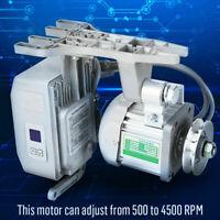 Brushless Motor Ajustable Mudo 550W 4500rpm para Maquina de Coser Industrial