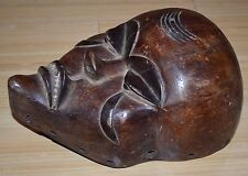 Antique Wooden Mask, Pende Tribal People, Congo Africa
