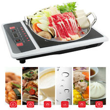 Digital Electric Induction Cooktop Countertop Burner Cook Top 2000W Safe Home