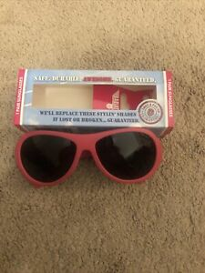 BABIATOR Baby Toddler SUNGLASSES, Pop star Pink Ages 3-7