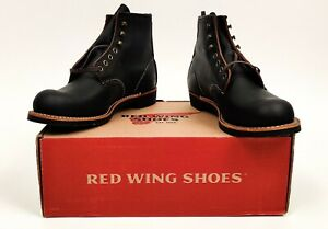 Red Wing 3345 Blacksmith, Black Prairie, 8 D, US 8, MINT, NIB, Factory 2nds