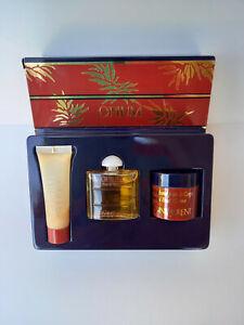 """COFFRET miniature """"OPIUM"""" d'Yves SAINT LAURENT crème et onguent vintage"""