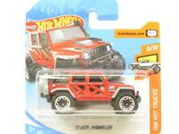 Hot Wheels 17 Jeep Wrangler Red 84/365 Short Card 1 64 Scale Sealed New