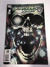 Blackest Night # 1 DC Comics 2009 Green Lantern Geoff Johns VF Black Lantern