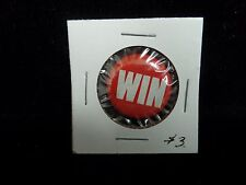 Win Pin Back Button  Courtesy of Swanson Frozen Foods